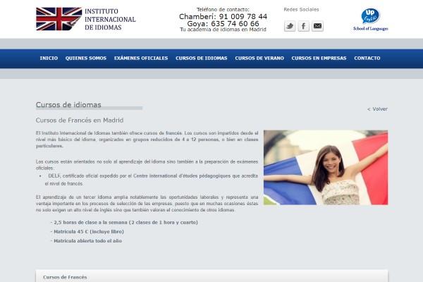 Cursos de Francés en Madrid